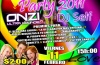 Matine Onlyforyoung Peace & Love Party 2011 Vie-11-Feb 15H