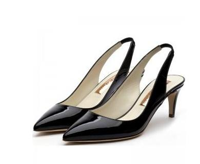sandalias taco medio para dama