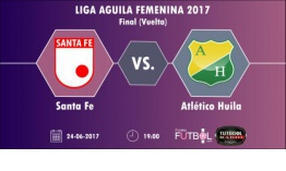 Final Liga Femenina: Santa Fe vs. Huila por TutoGol Radio