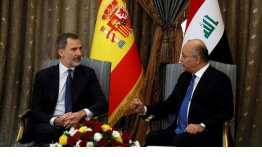 The King Felipe Vi Visits Iraq